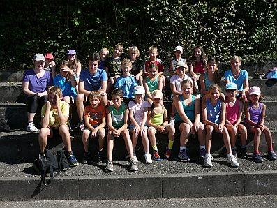 Teilnehmer Sportabzeichen Schülerferienprogramm